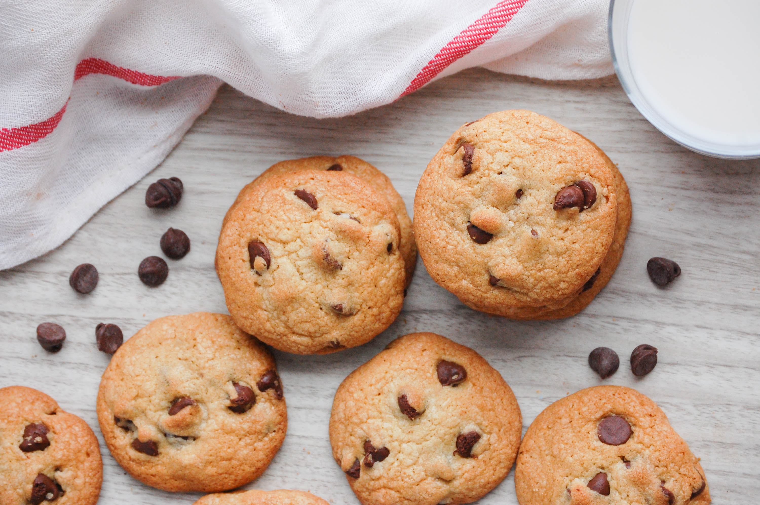 The Best Chocolate Chip Cookies by The District Table