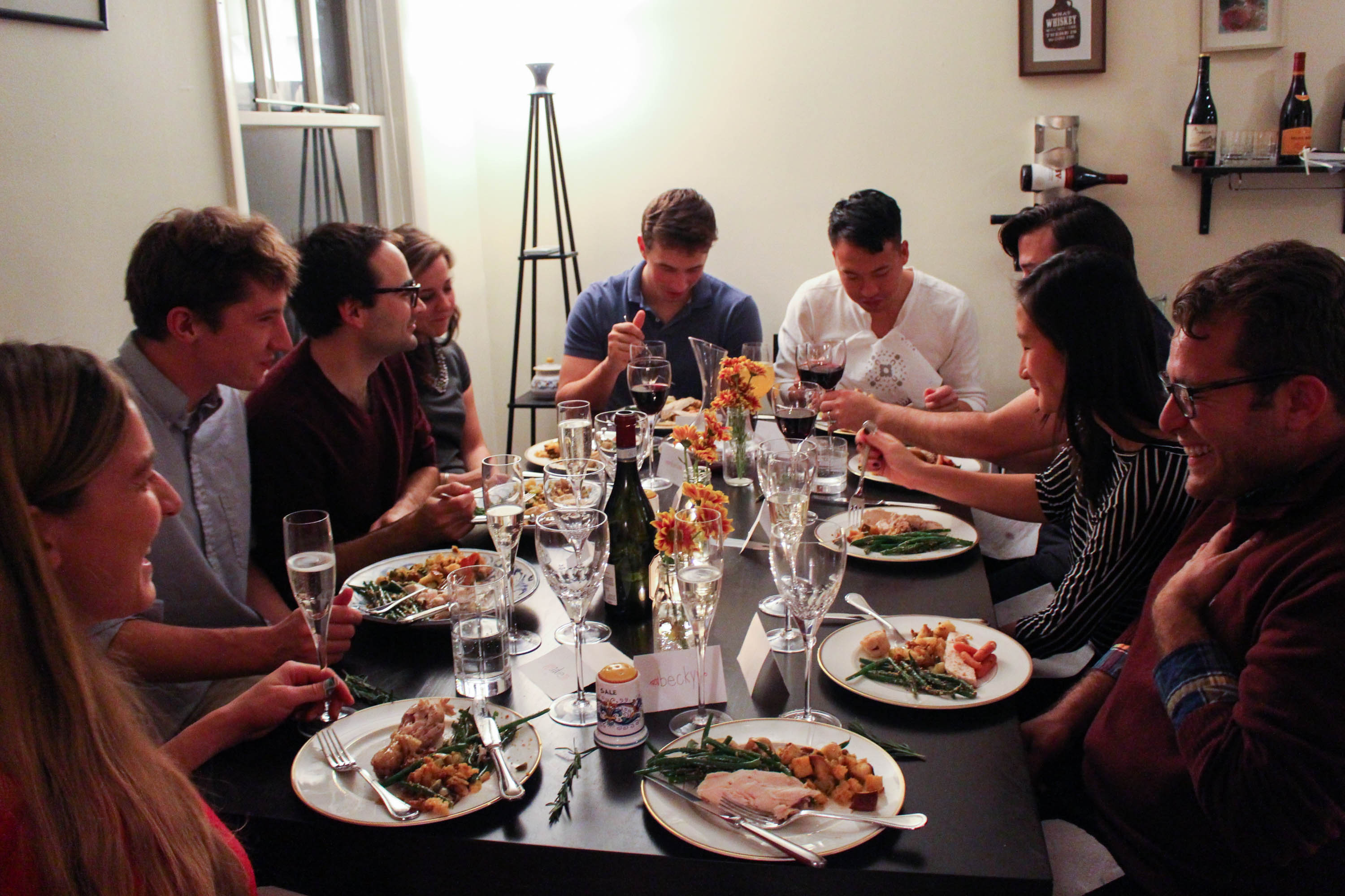Tips for Hosting a Dinner Party via The District Table