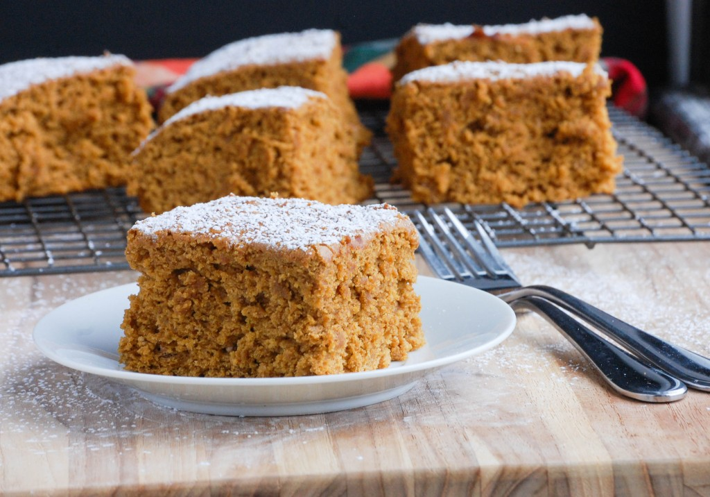 Healthy Pumpkin Spice Cake