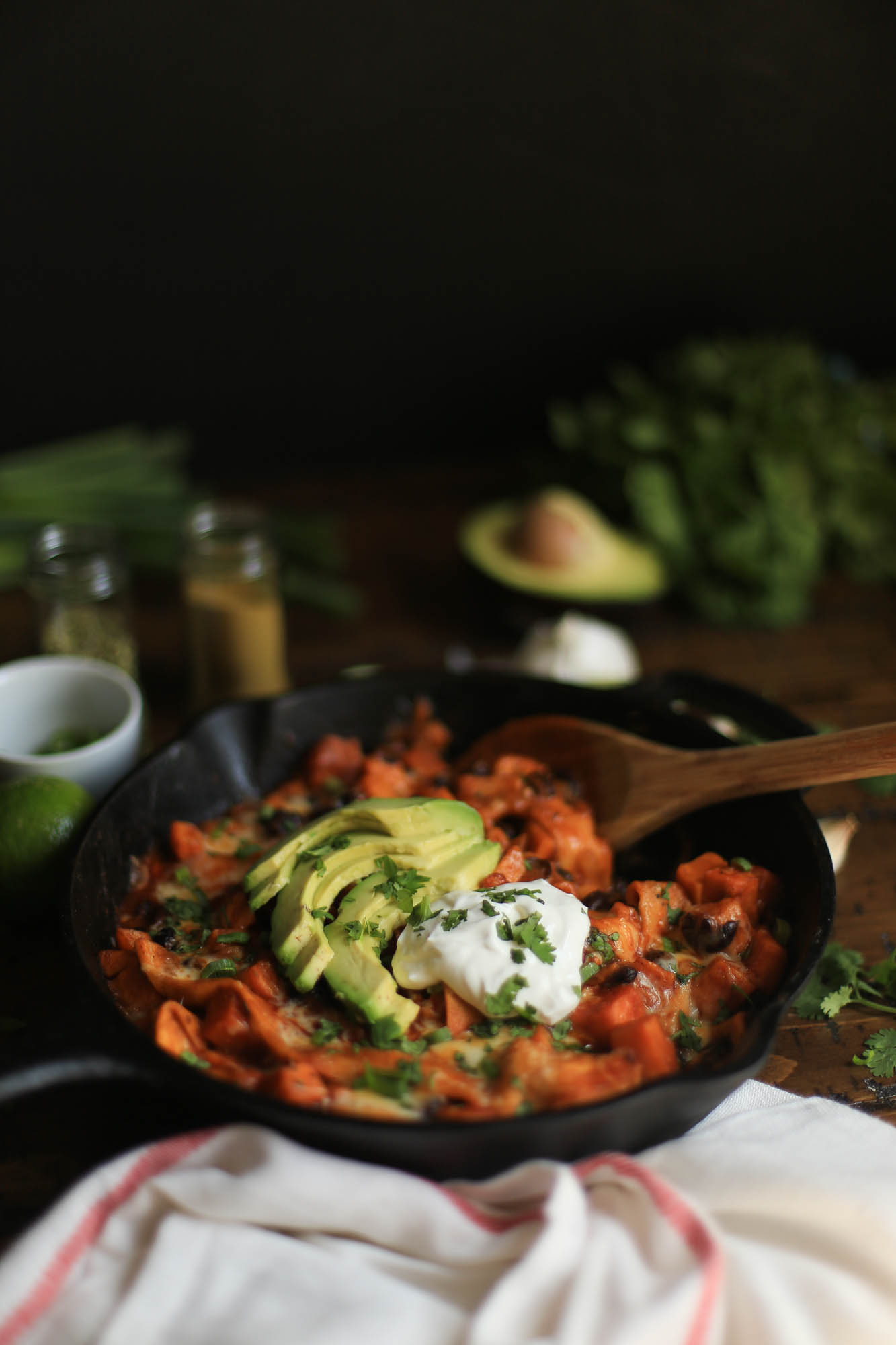 Easy Enchilada Skillet by The District Table