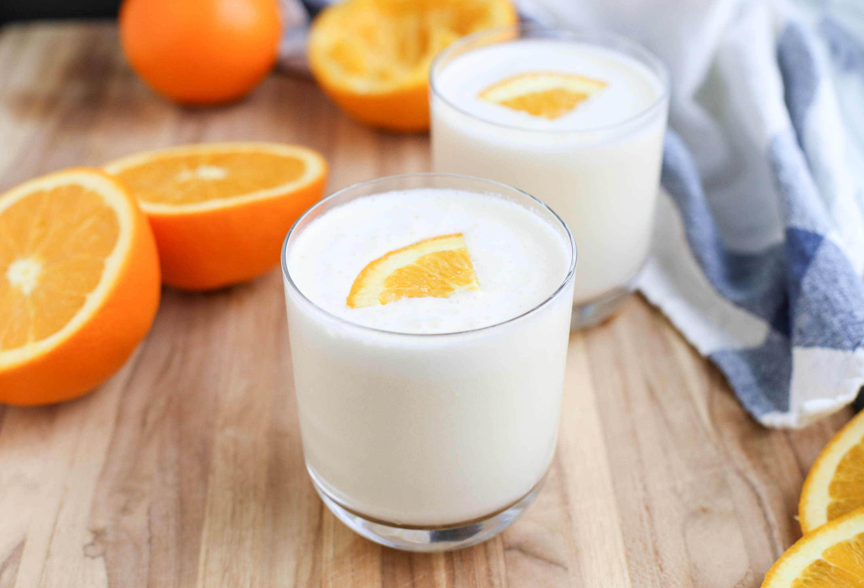 How to Make an Orange Julius by The District Table