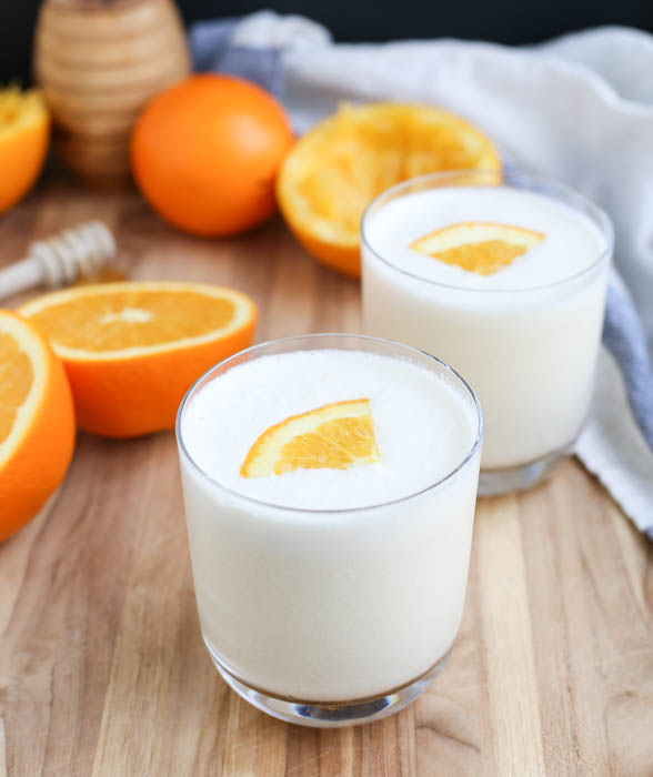 How to Make an Orange Julius