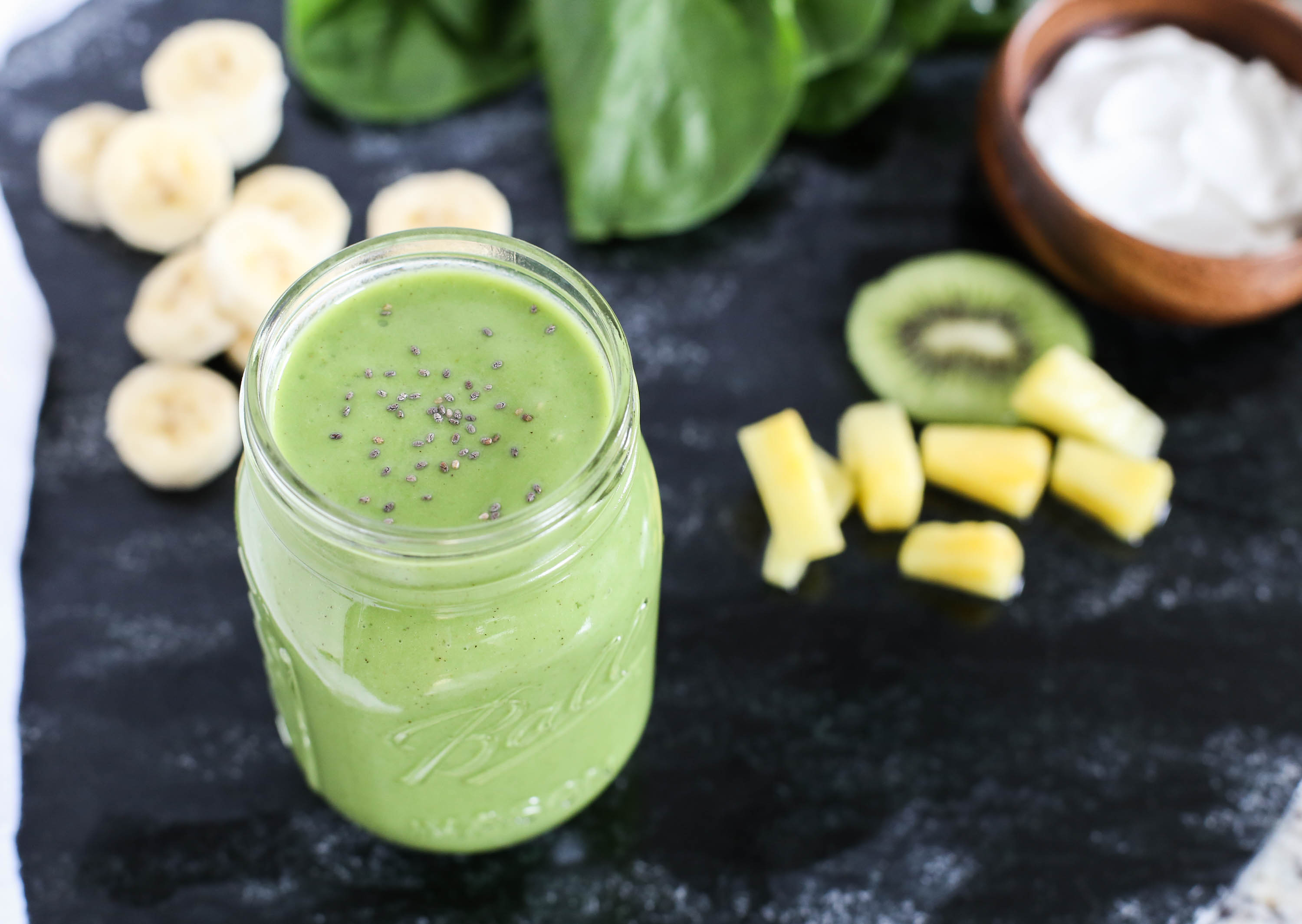 Easy Green Smoothie by The District Table