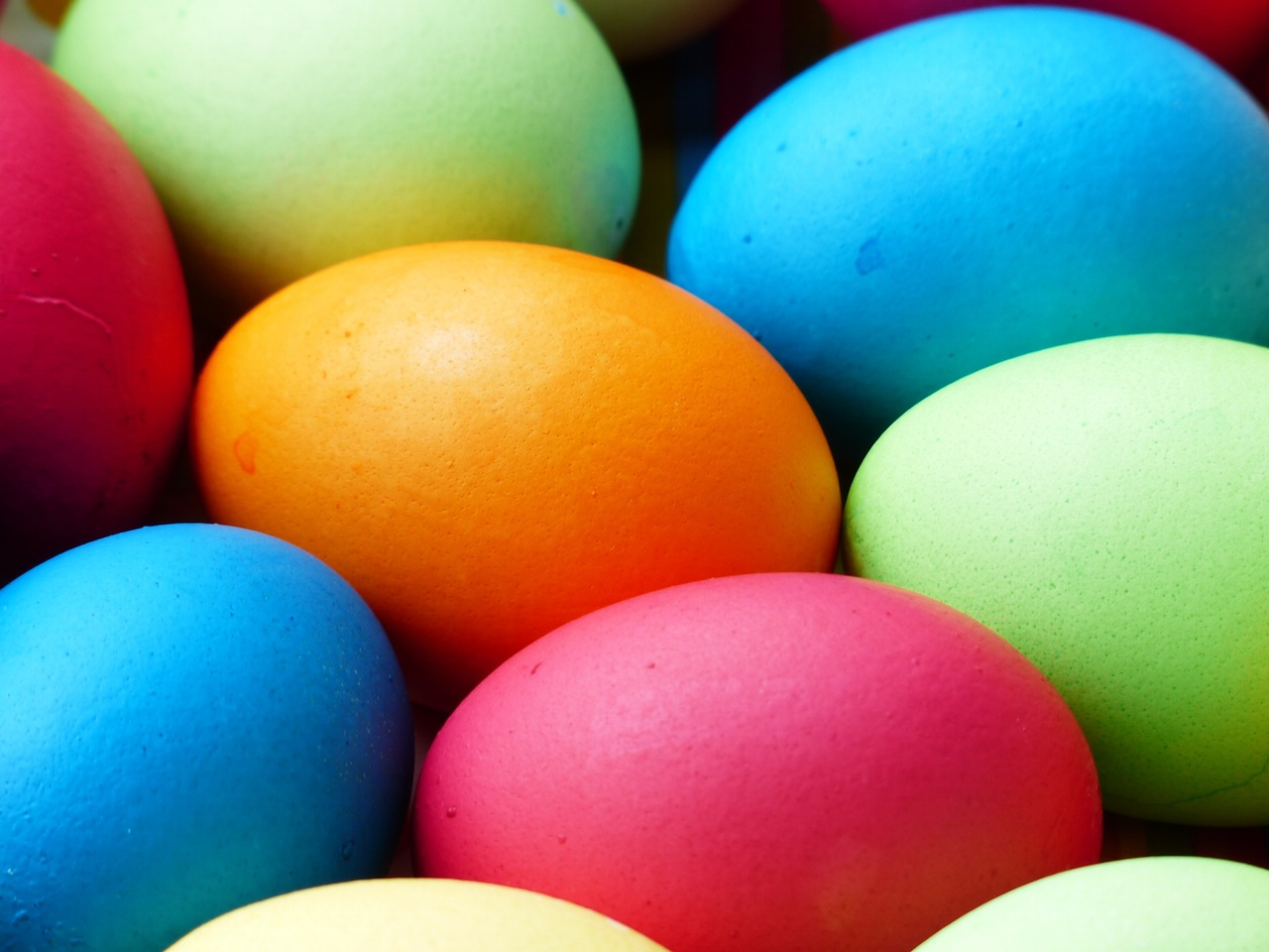 Food Beginnings: Easter Eggs and a Bunny by The District Table