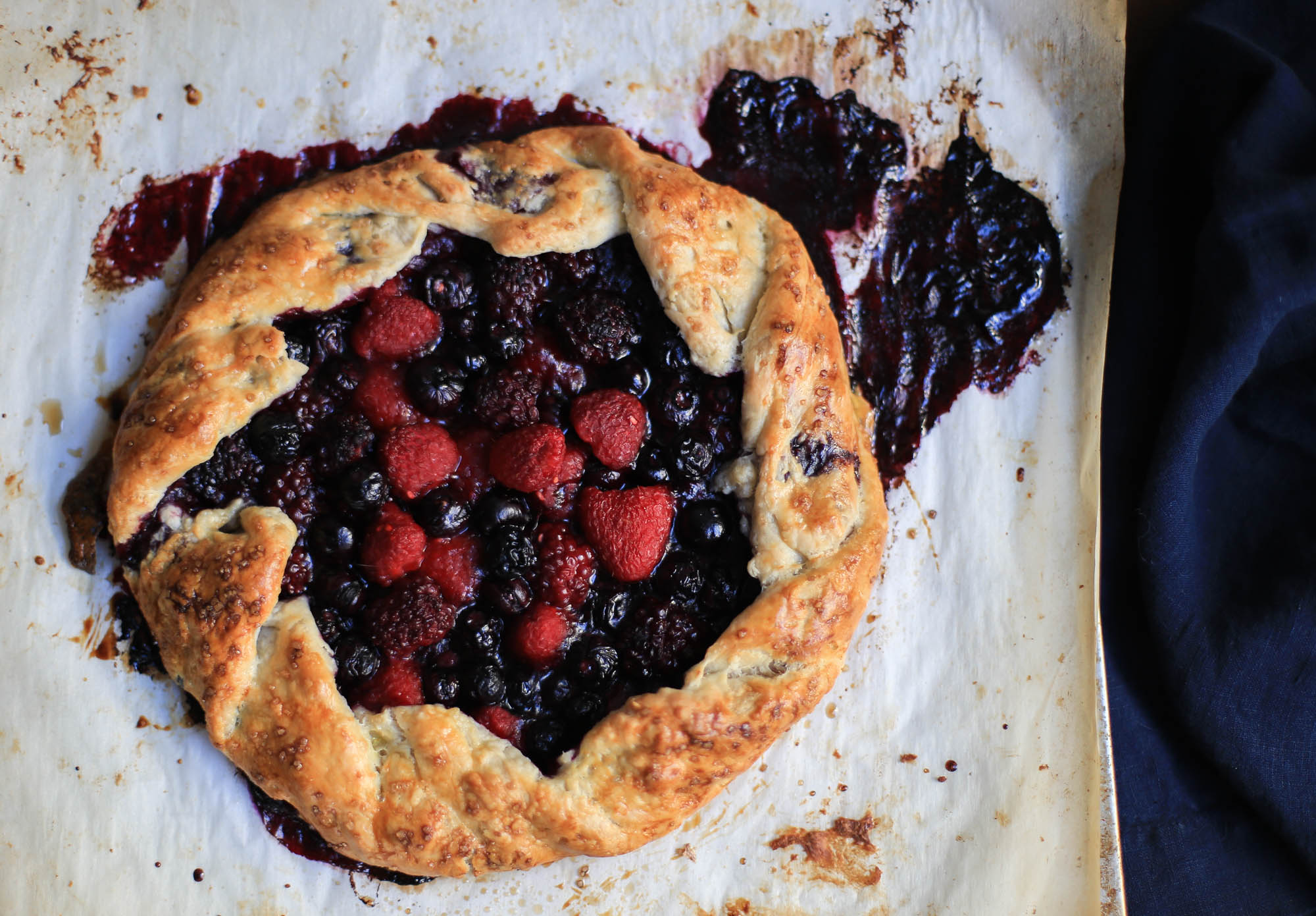 Summer Berry Galette The District Table