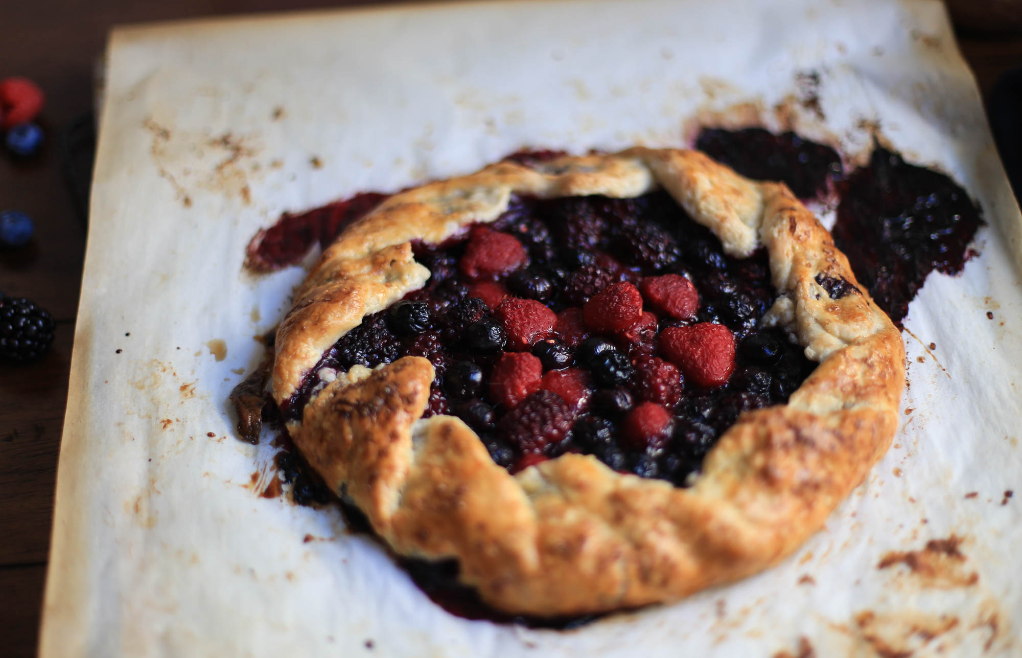 Berry Galette-48