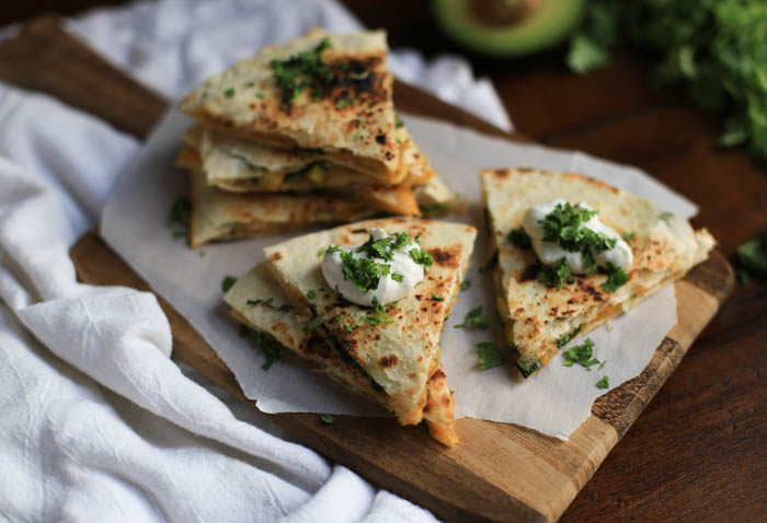Easy Weeknight Zucchini Quesadillas