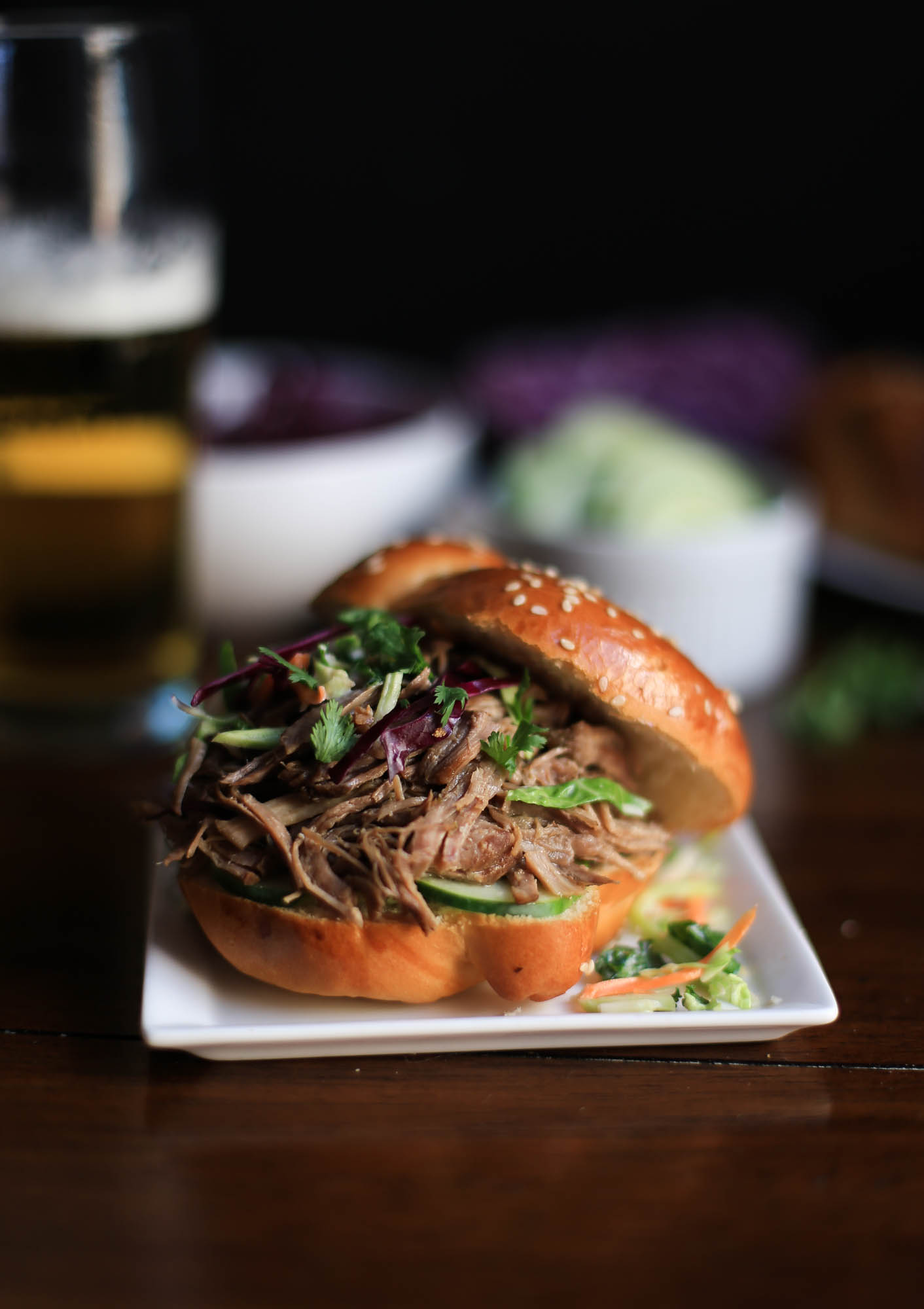 Slow Cooker Asian-Style Pulled Pork by The District Table