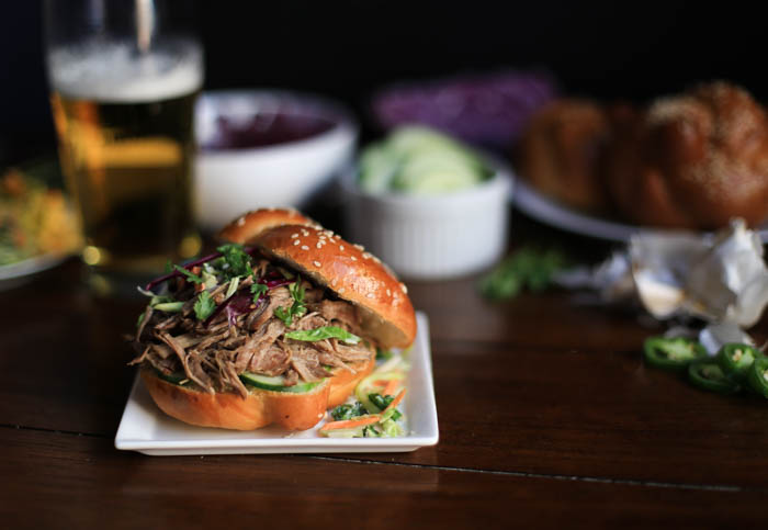Slow Cooker Asian-Style Pulled Pork