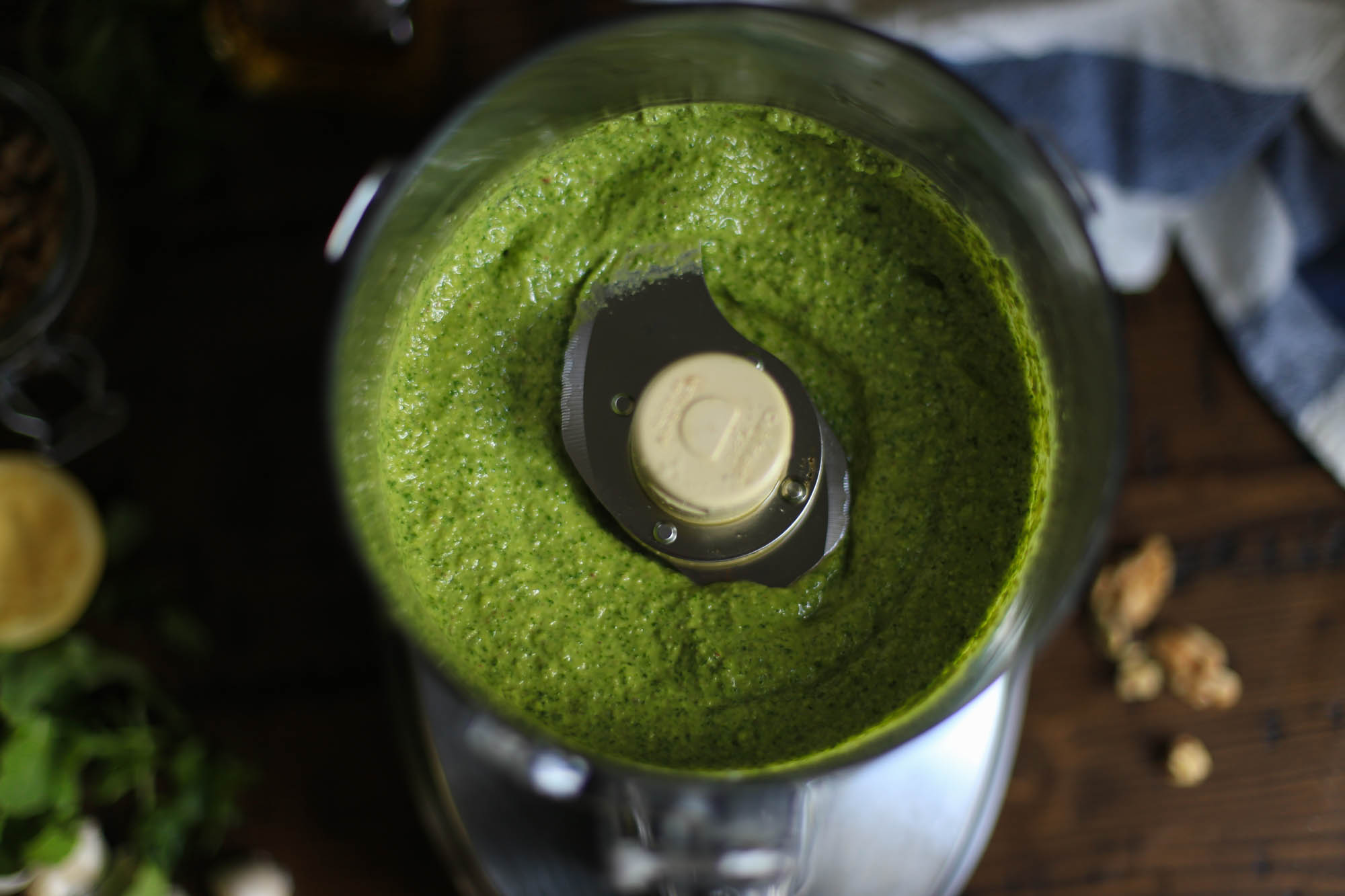How to Make Pesto by The District Table