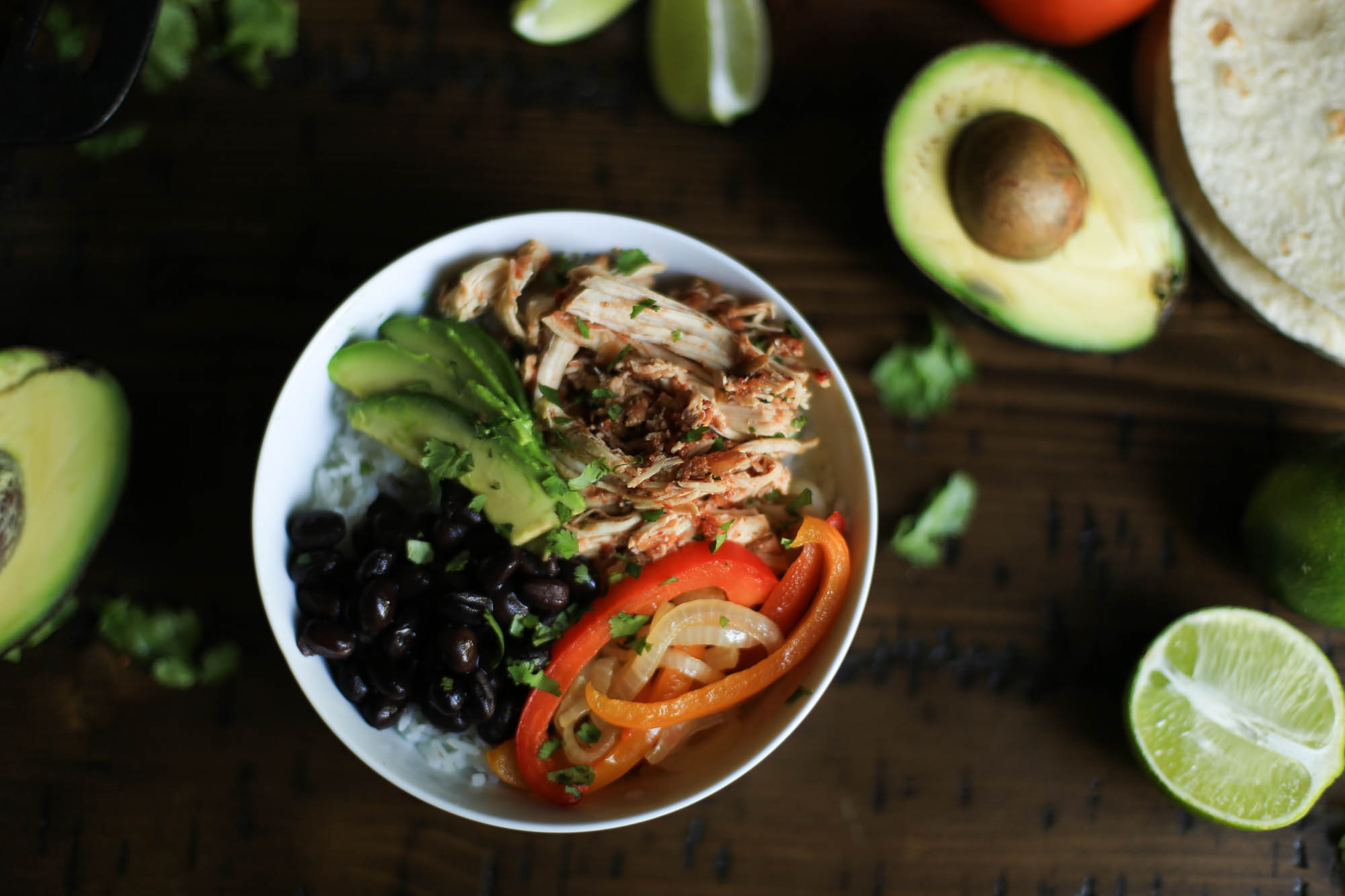 Slow Cooker Salsa Chicken by The District Table