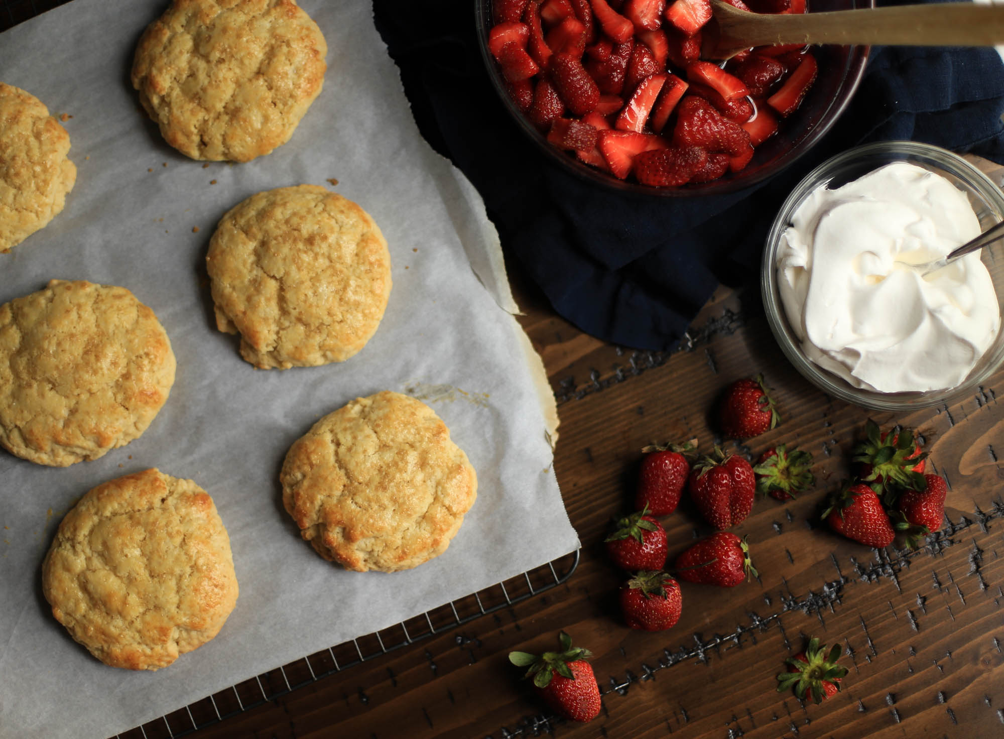 The Best Strawberry Shortcake Recipe by The District Table