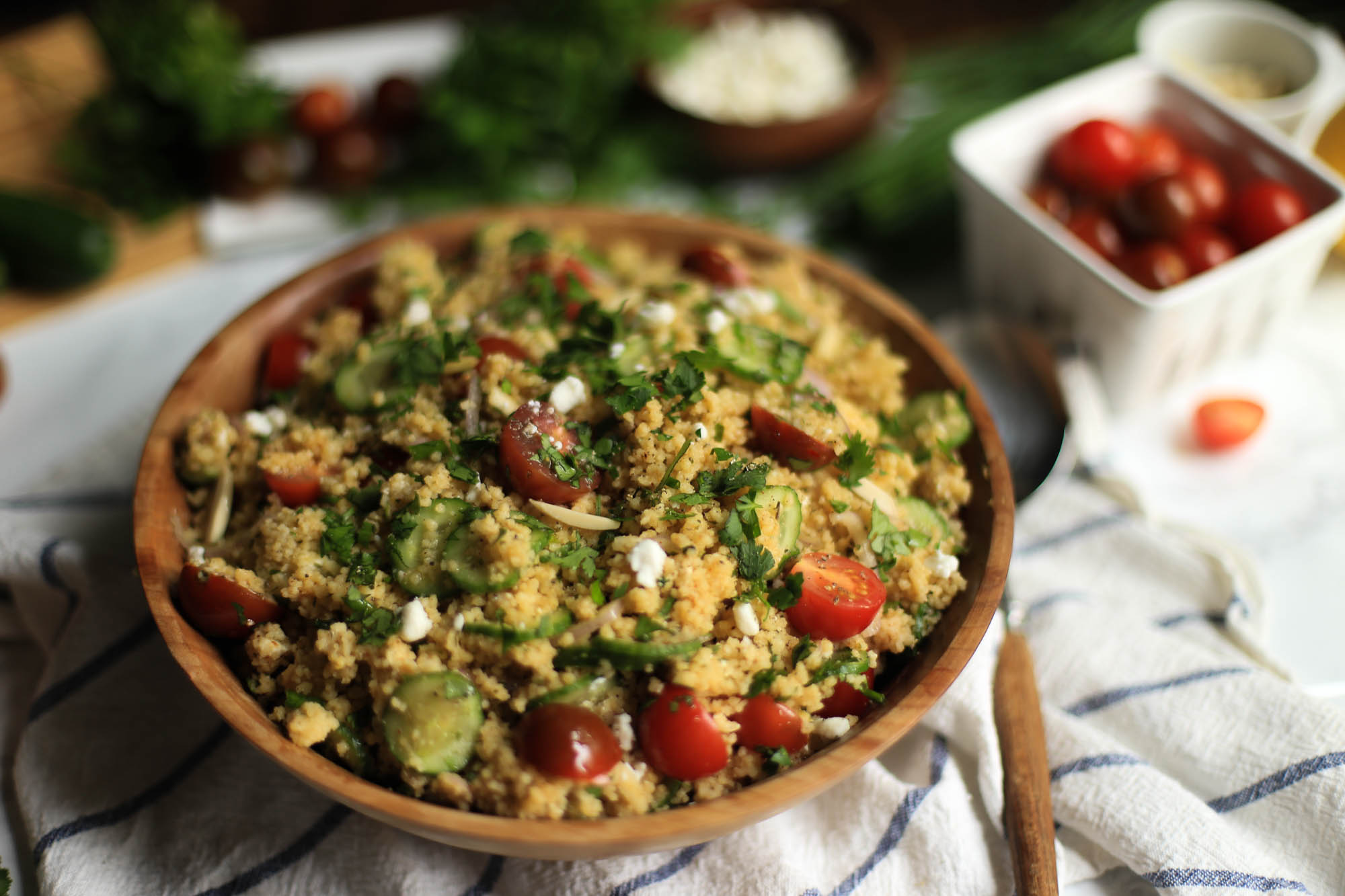 Healthy Summer Couscous Salad by The District Table